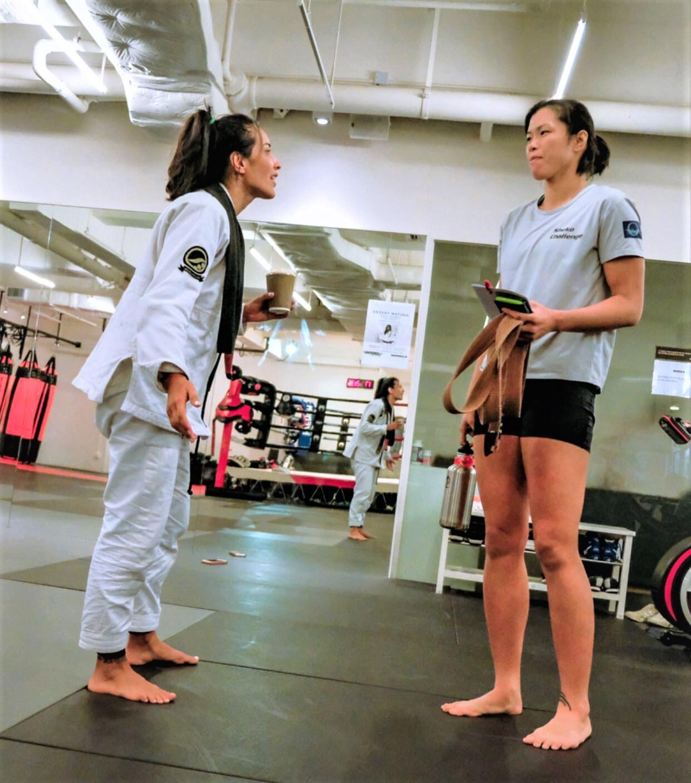 female black belt hong kong
