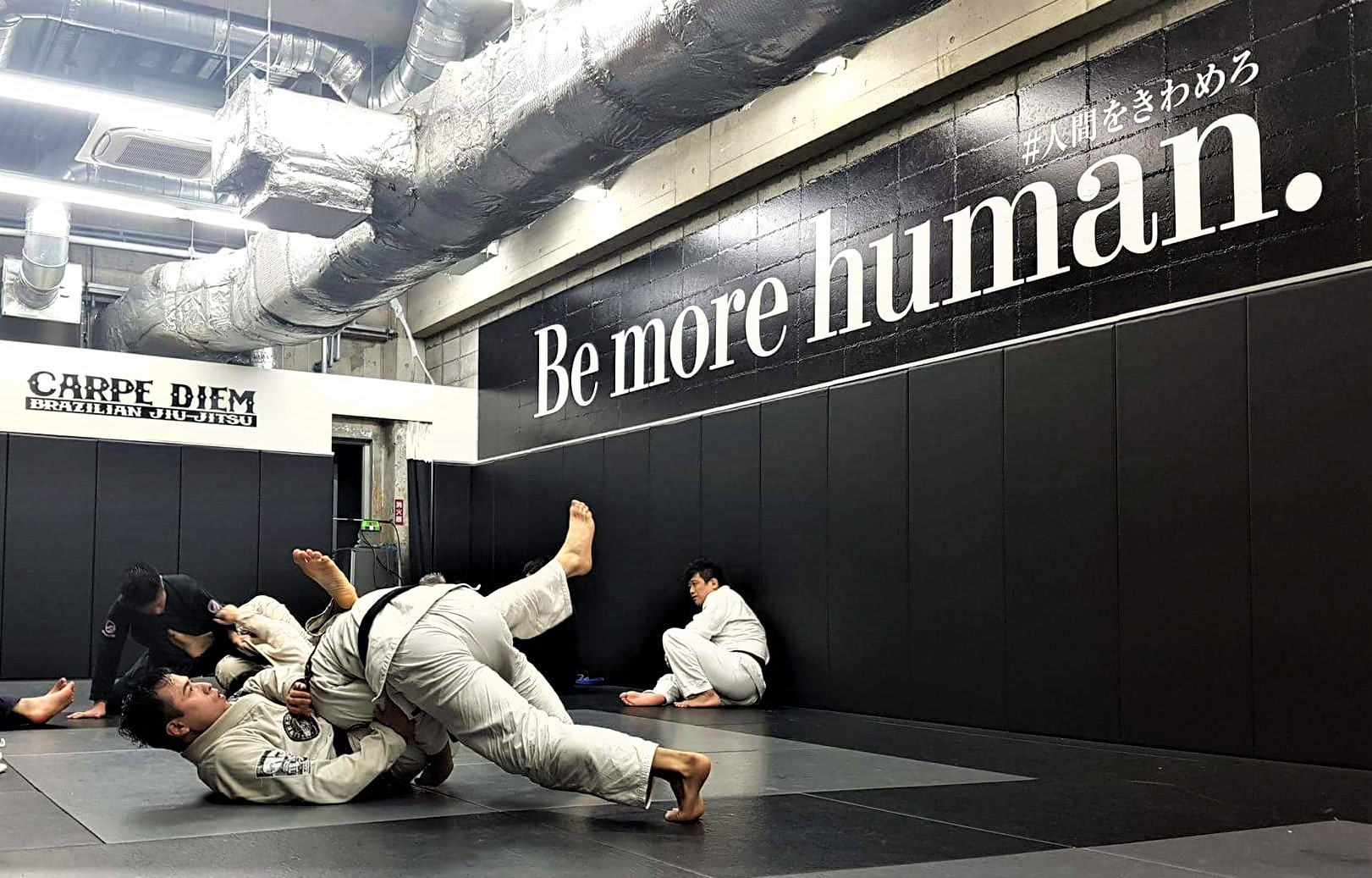 Training at Carpe Diem BJJ in Tokyo – Mita Branch