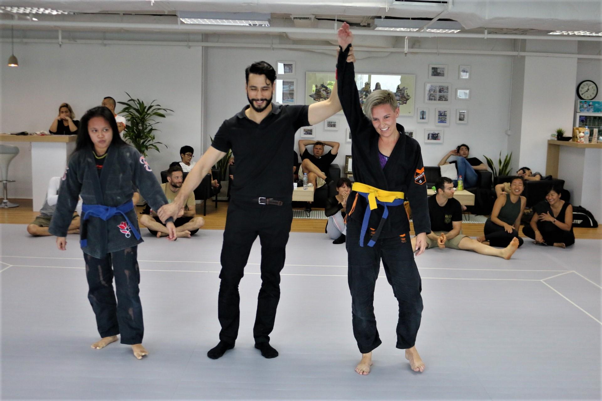 Bangkok BJJ competition , victory
