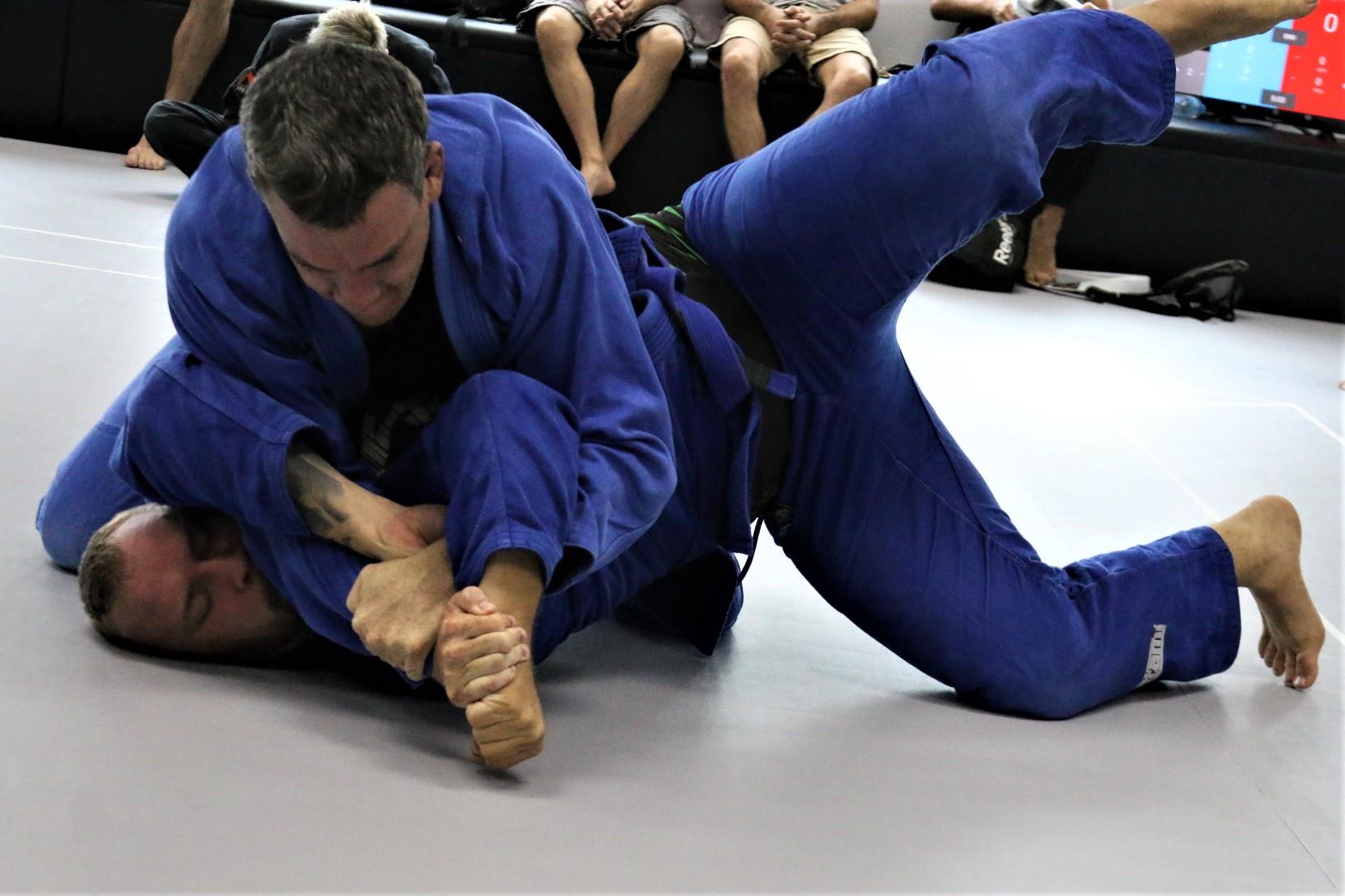 Bangkok BJJ competition kimura