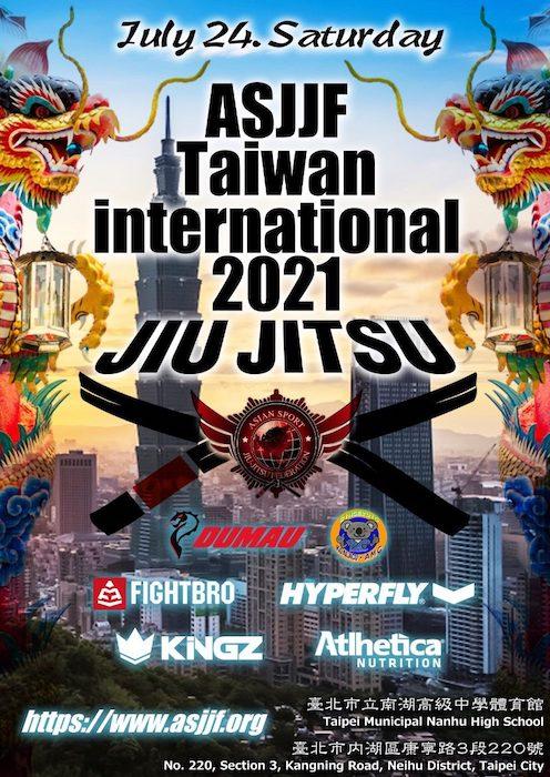 ASJJF Taiwan International Open 2021