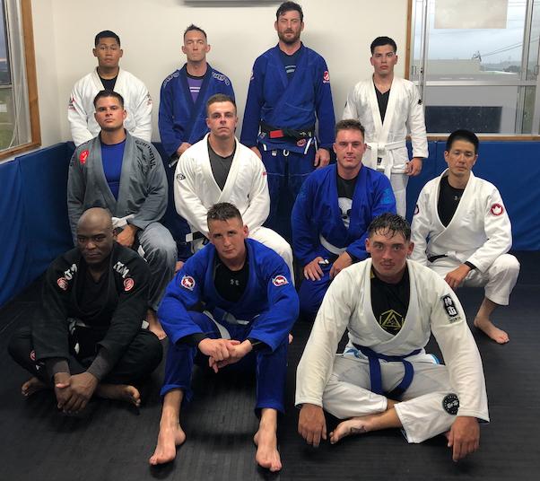 Kuro Hata BJJ Okinawa Team